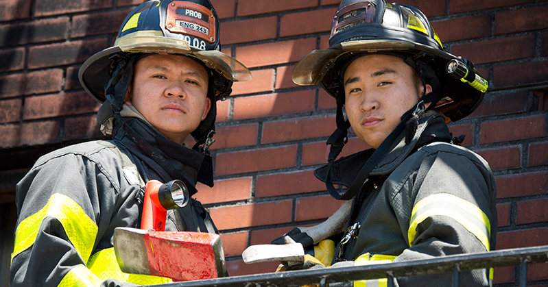 FDNY Firefighters Benjamin and Chi