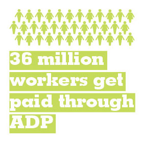 36 million workers get paid through ADP