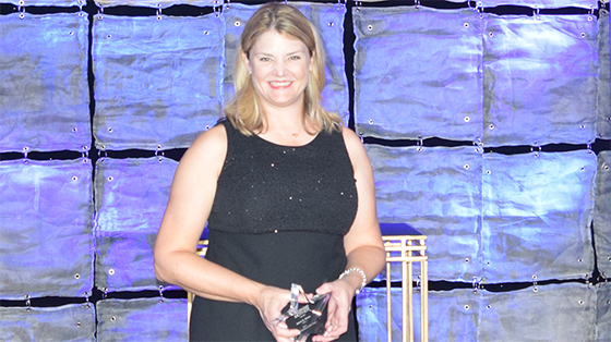 Laura Brown, recipient of Working Mother of the Year Award 2016