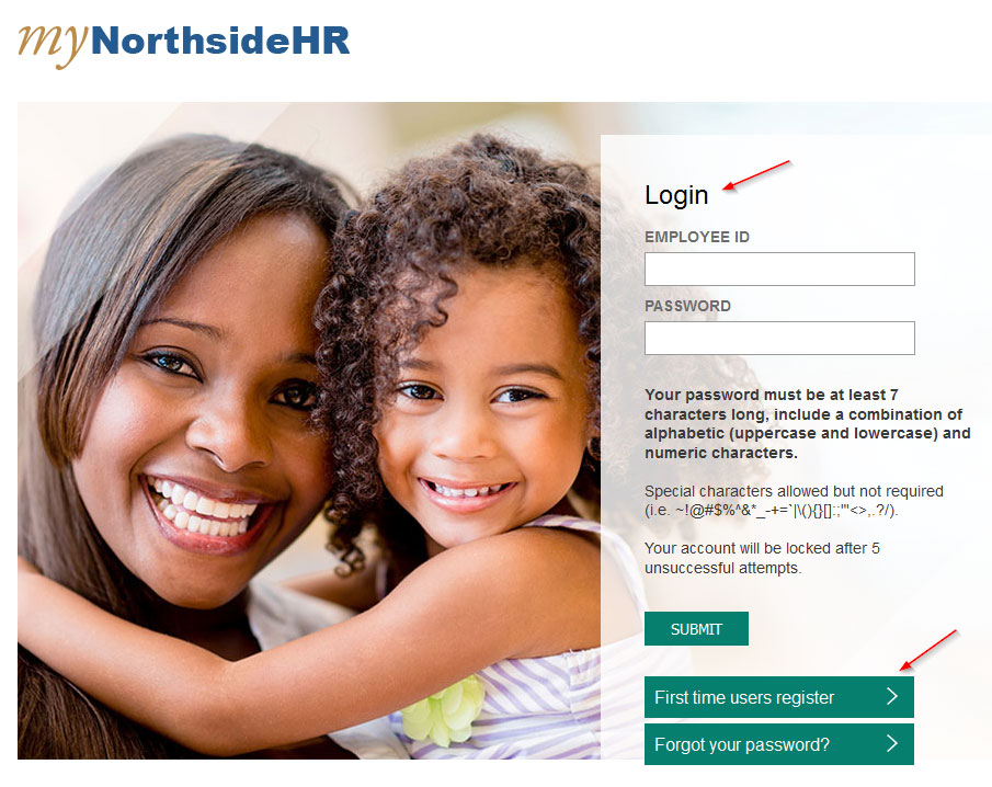 login northside hr