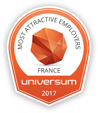 Most Attractive Employers: France — Universum 2017