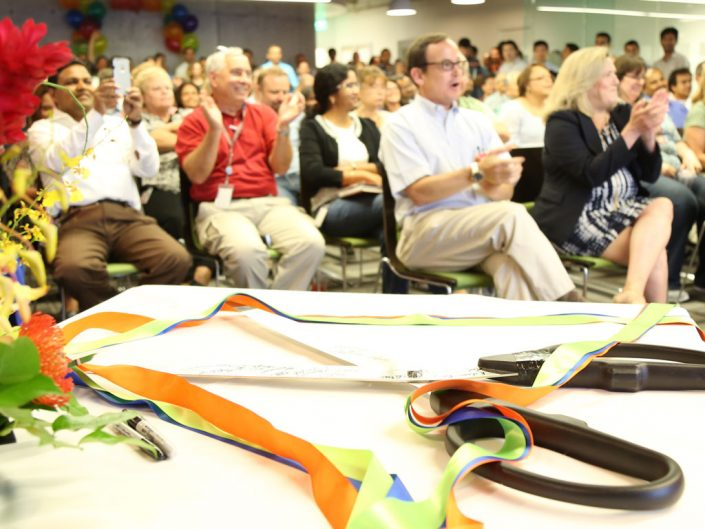 ADP Pasadena ribbon-cutting ceremony