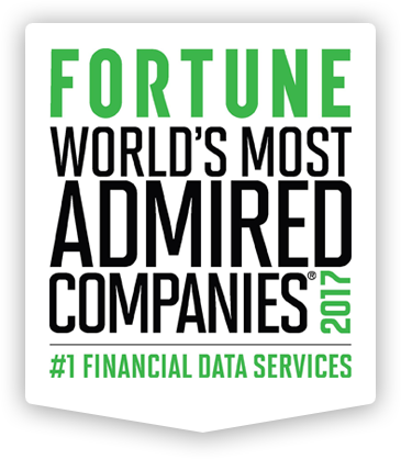 FORTUNE World's Most Admired Companies 2017: #1 Financial Data Services