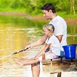 Boating, Camping, Fishing