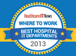 Healthcare IT News: Where to work—Best Hospital IT Departments 2013
