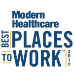 Modern Healthcare Best Places to Work 2017