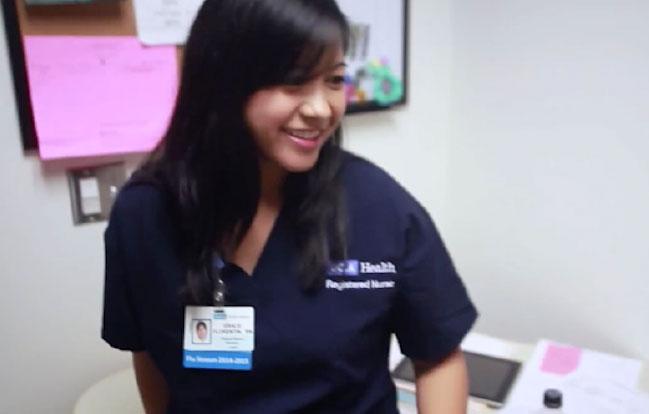 UCLA Health Meet Grace Smiling