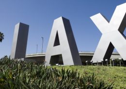 LAX Rental Car Location