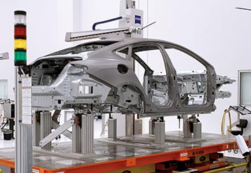 Automotive frame machine