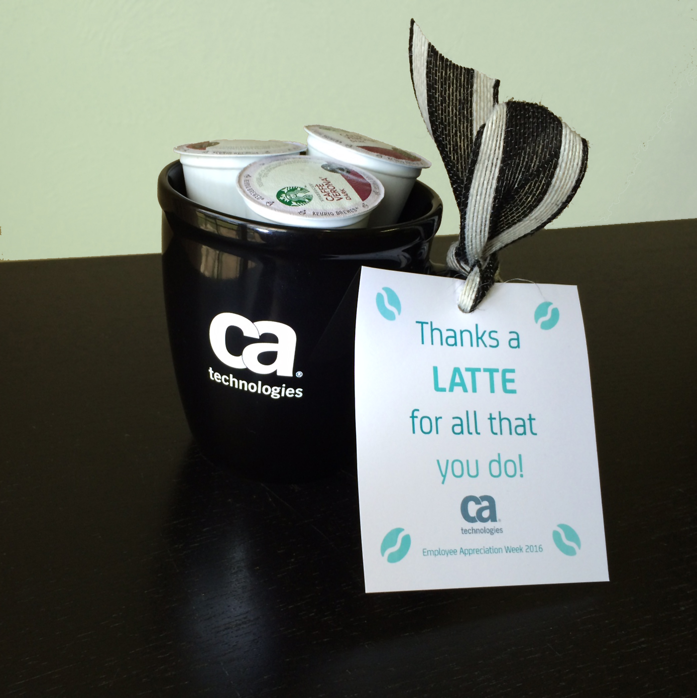 How to 6 easy gift ideas for employee appreciation week bring thanks a latte how to 6 easy gift ideas for employee appreciation week negle Choice Image