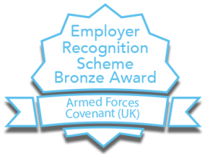Armed Forces Covenant: Employer Recognition Scheme Bronze Award