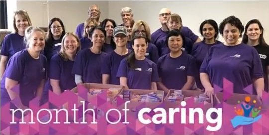 ADP's Month of Caring 2017