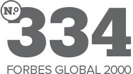 No 334 FORBES GLOBAL 2000