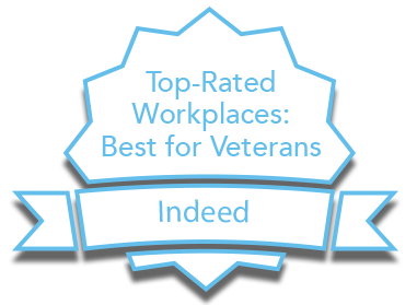 Indeed: Top-rated workplaces best for veterans