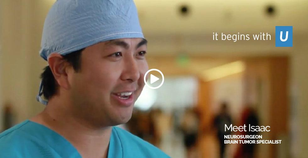 UCLA Helath Meet Isaac Neurosurgeon