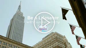 Be a Lifesaver with Gus Kenworthy