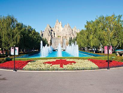 Canada Carousel water fountain