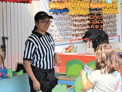 Canada Carousel games staff