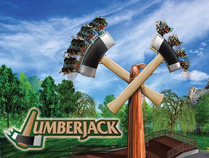 Canada Carousel lumberjack