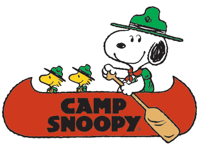 Carowinds Carousel camp snoopy
