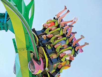 CedarPoint Carousel land rides