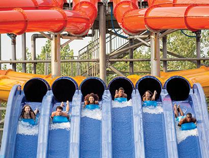 CedarPoint Carousel water rides