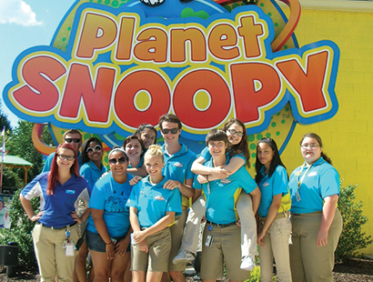 Dorney Carousel planet snoopy