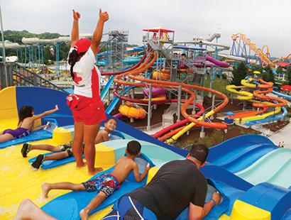 Dorney Carousel water park