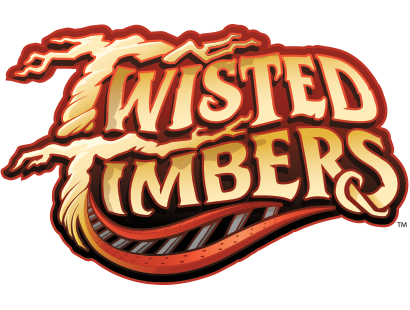 Kings dominion carousel twisted timbers