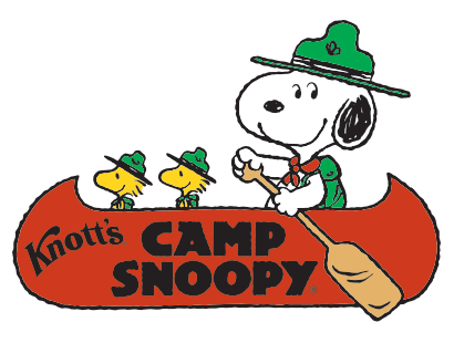 Knotts Carousel camp snoopy