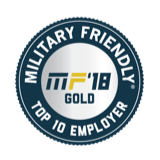 MilitaryFriendly18 logo