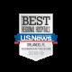 Best Regional Hospitals U.S. News Orlando, FL - recognized in 16 types of care - 2018-19