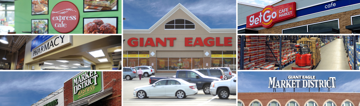 Giant Eagle Location Mosaic