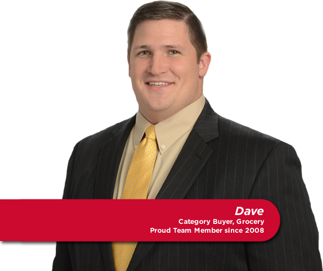 Dave, Category Buyer, Grocery