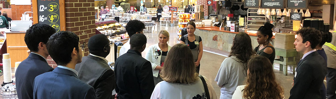 Group Tour of Market District