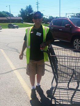 David at Bedford Giant Eagle
