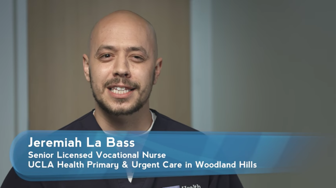 Jeremiah La Bass | UCLA Health Employee Spotlights