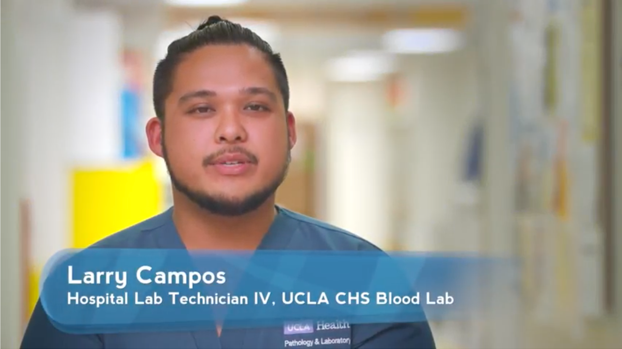 Larry Campos | UCLA Health Employee Spotlight