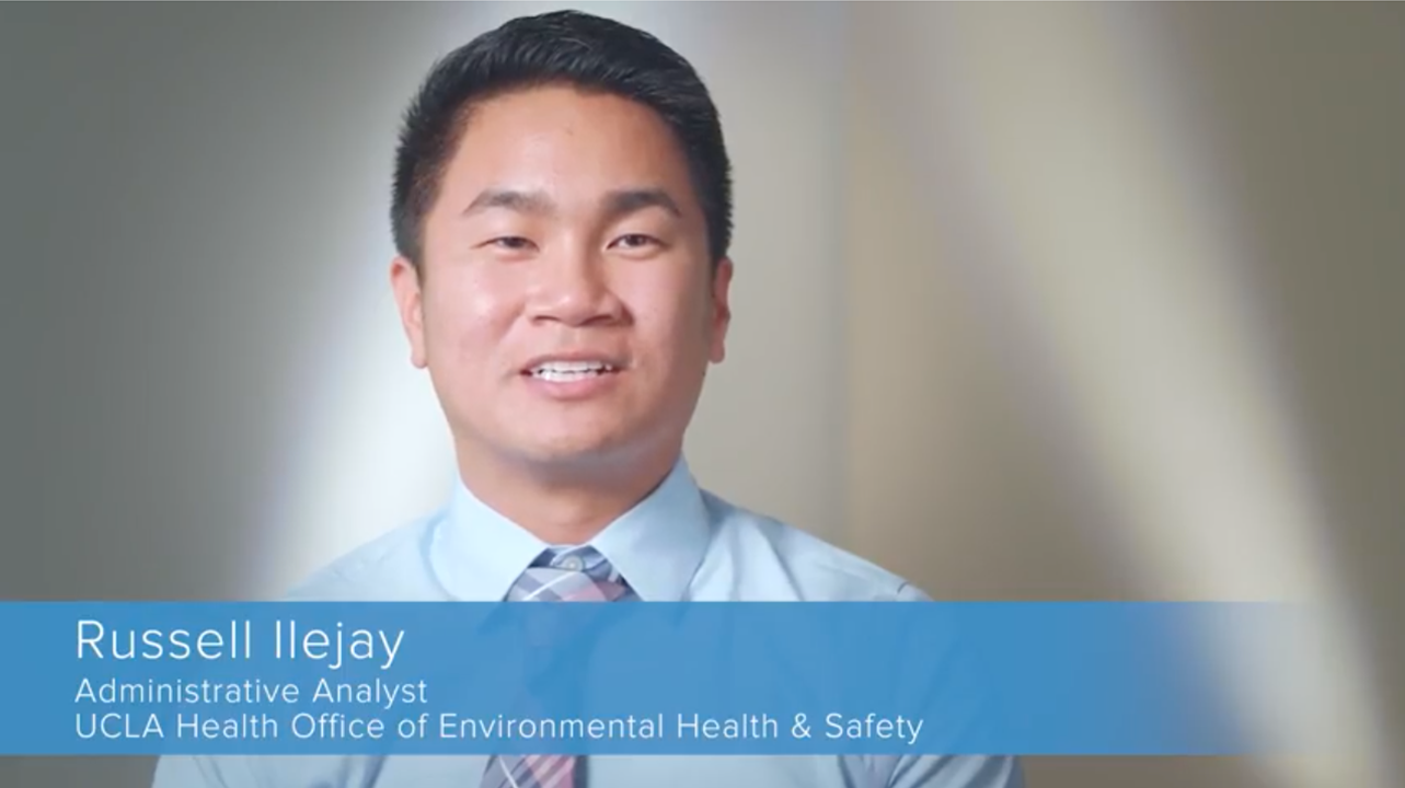 Russell Ilejay | UCLA Health Employee Spotlight
