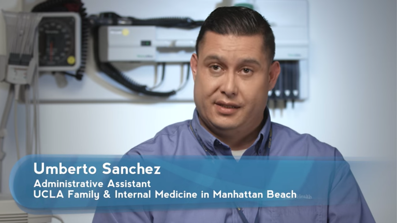 Umberto Sanchez | UCLA Health Employee Spotlight