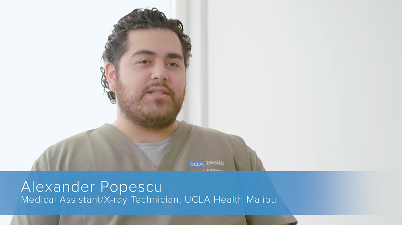 Alexander Popescu | UCLA Health Employee Spotlight