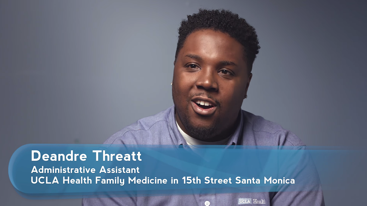 Deandre Threatt | UCLA Health Employee Spotlights
