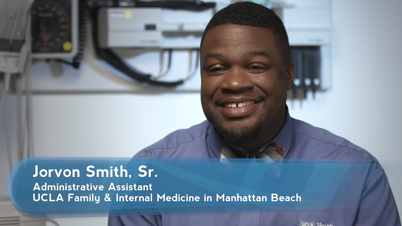 Jorvon Smith, Sr. | UCLA Health Employee Spotlight