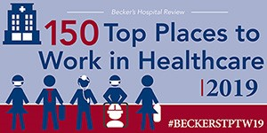 150 Top Places to Work in Healthcare 2019