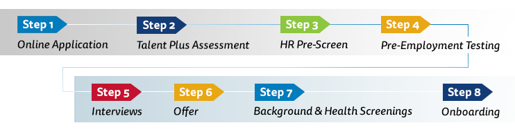 Employment process: step by step