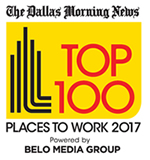 The Dallas Morning News Top 100 Places to Work 2017