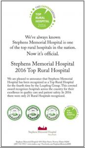 Leap Frog Award Hospital