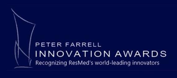 Peter farewell innovation awards