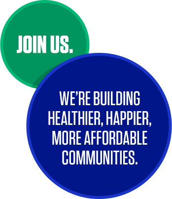 2755c2ba652 Join Us. We're Building Healthier, Happier, More Affordable Communities. Job  Search Keywords