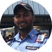 Ananth, Security Area Supervisor